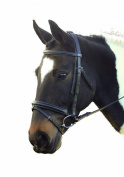 GFS Humane Consort Padded Leather Bridle