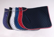 Rhinegold Quilted Horses Saddle Cloth With Piped Edge