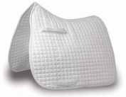 MARK TODD TRADITIONAL DRESSAGE PAD FULL SIZE WHITE available from COLTSFOOT EQUESTRIAN