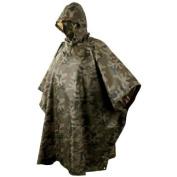 Army Waterproof Hooded Poncho Basha Helikon Polish Camo