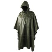 Waterproof Military Hooded Ripstop Poncho Helikon Olive OD