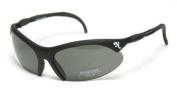 Napier A1000 Pro Frame Matt Black Shooting Glasses with quick change polycarbonate polarised grey lenses