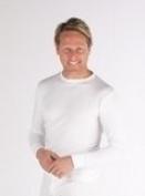 2 Mens Thermal Underwear Long Sleeve Vest
