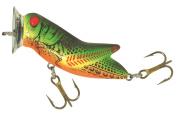 Rebel Crick hopper Popper Fishing Lure, Fire Tiger, 4.4cm , 3/470ml