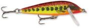 Rapala Countdown 01 Fishing lure, 2.5cm , Hot Mustard Muddler