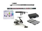 Carbon Telescopic Fishing Starter/Travel Set