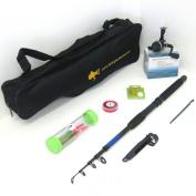 FTD Kids Complete Fishing Set - Rod / Reel / Tackle / Bag - Ideal Starter Holiday Pack
