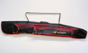 Xl Technique 3 Tube Rod Holdall with 2 Exterior Pockets for Bank Sticks & Brolly