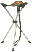 Shakespeare Compact Folding Stool - Brown/Green, 60 Kg