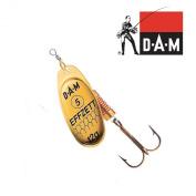 Dam Effzett Standard Spinner gold 6 g
