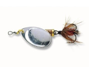 Spinner - Mepps Aglia mit fly silver