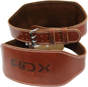 Authentic RDX Weight Lifting 15cm Nubuck Belt Back Support Strap Gym Power Training
