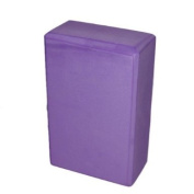 Yoga Block Foam for Exercise Fitness Healthy Life - Purple