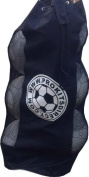 PROSTYLE SPORTS Football / Netball / Rugby 6 Ball Carry Sack Holdall Bag Heavy Duty - Black