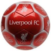 Liverpool FC Official Signature Crest Football