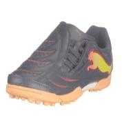 Puma Powercat 3.10 Tricks Junior Astroturf Trainers - Dark Navy/Peach/Red - UK Size 4 Junior