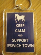 Ipswich Town F.C - Keep Calm Key Ring