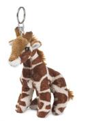 WWF 15205025 Plush Toy Giraffe Key Ring 10 cm