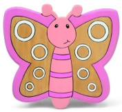 Childrens Pine Wooden Butterfly Kids Stool/Chair