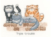 Triple Trouble by Heritage Crafts
