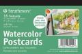 Strathmore Watercolour Postcard Paper Pad, 10cm x 15cm