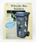 Wheelie Bin Stickers - Birds