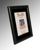 R7 Black Frame with Black Mount A1 for Pic Size 60cm x46cm
