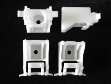4 Silent Gliss 3630 track and blind support brackets