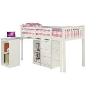 LPD Furniture Milo Sleep Station, In White