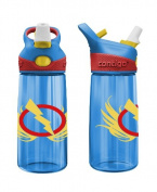 Contigo 420 ml Kids Striker Autosprout Bolt Water Bottle, Blue