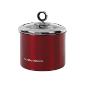 Morphy Richards 13.5 x 14 cm Storage Canister, Red