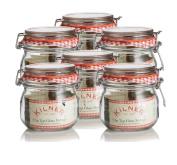 6 x Kilner Cliptop 0025.490 Round Preserve Jars