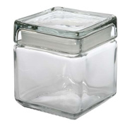 Anchor Hocking Stackable Storage Jar 1.0L Annealed Glass