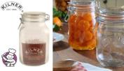 Kilner Square Clip Top Jar 1.5ltr | Kilner Preservation Jar, Kilner Storage Jar, Kilner Jam Jar with Cliptop Lid