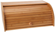 Ambiance Nature 507099 Bread Bin with Sliding Lid Bamboo