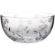 "Bowl, mixing bowl, tray for apetizers, Collection ""MAITRAUM"", lead crystal, transparent, 23 cm"