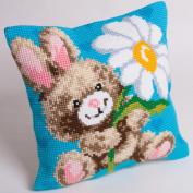 Mr Jeannot Pillow Cross Stitch Kit-38cm - 1.9cm x 40cm