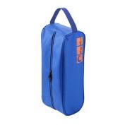 RHX Golf Bowling Shoes Bag Travel Carry Storage Case Box Dustproof Waterproof Blue