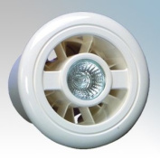 Vent Axia 453413 Luminaire Shower Fan & Light Kit with Timer