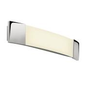 Astro 0616 2G11 Bow Plus Wall Light excluding 1 x 24 Watt CFL Bulb, Chrome