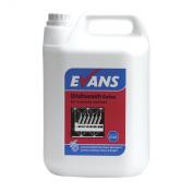 Evans Vanodine Dish Wash Detergent Extra 5ltr