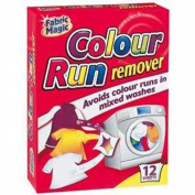 Fabric Magic Colour run remover - 12 sheets