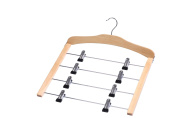 Zeller 17118 Skirt Hanger 39 x 43 x 1.2 cm Beech / Chrome