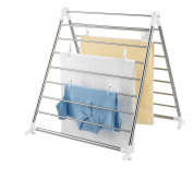 Wenko Profi Laundry Dryer For Bath Tubs, Stainless Steel, 150 X 65 X 2.5 Cm