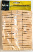 Wooden Clothes Peg Pack 72/Pack
