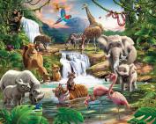 Walltastic Jungle Adventure Wallpaper Mural 2.4m x 3m