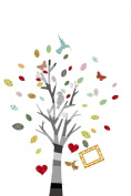 Walplus Huge Colourful Tree Nursery / Children / Kids Wall Stickers / Decoration Paper