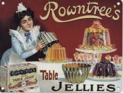 Rowntree's Table Jellies - Mini Metal Wall Sign