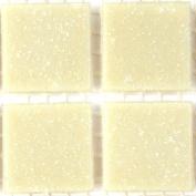 Vitreous Glass Mosaic Tiles 20mm Cream
