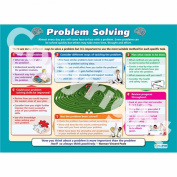 Problem Solving Wall Chart/Poster in durable laminated paper